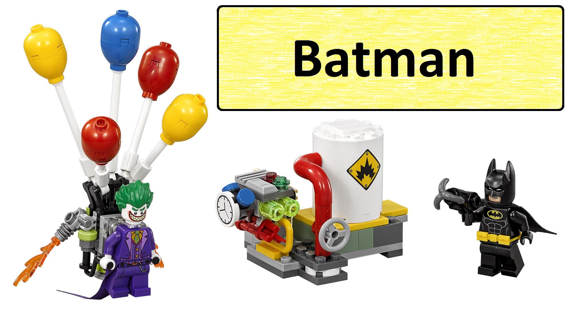 День рождения с Бэтменом